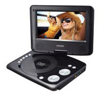 "Sylvania 7"" Swivel Screen Portable DVD Player - SDVD7073"