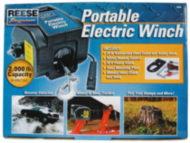 Reese Towpower® Portable Electric Winch