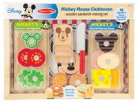 Melissa & Doug Disney Mickey Mouse Clubhouse Wooden Sandwich-Making Set