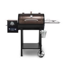 Pit Boss 440D2 Deluxe Wood Fired Pellet Grill with Flame Broiler