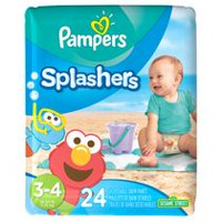 Pampers Splashers Disposable Swim Pants 3T-4T