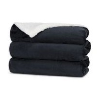 Sunbeam Winter Luxe Ultra Soft Heated Throw Black