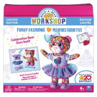 Build-A-Bear Workshop - Furry Fashions - Build-A-Bear 20th Birthday Celebration Bear - Limited Edition