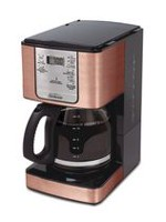 Sunbeam 12-Cup Programmable Coffeemaker Copper