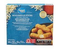 Great Value Mozzarella Sticks with Marinara Dipping Sauce