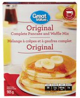 Great Value Original Complete Pancake & Waffle Mix