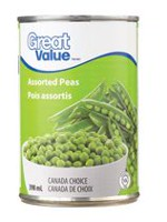 Great Value Assorted Peas