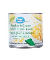 Great Value Peaches & Cream Corn
