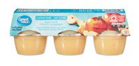 Great Value Apple Snack Unsweetened Cups