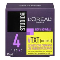 L'Oréal Pommade coiffant Paris Studio Line #Txt Cream Wax