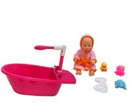 14 inches Bath Time Baby Set