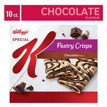 Kellogg's Special K Pastry Crisps, Chocolate Flavour - 125g 10 bars