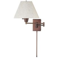 Saris 1-Light Spanish Café Wall Lamp