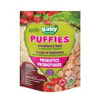 Baby Gourmet Foods Puffies Strawberry Beet Puff Snacks