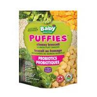 Baby Gourmet Foods Puffies Cheesy Broccoli Puff Snacks