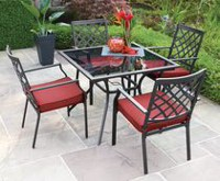 hometrends Montclair 5-Piece Dining Set