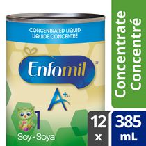 Préparation pour nourrissons Enfamil A+® Soya, concentré