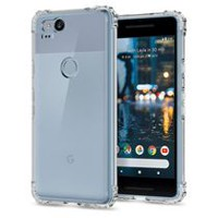 Exian Google Pixel 2 TPU Thick Case Transparent Clear