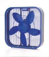 "Sunbeam 20"" Box Fan Blue"