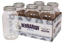Bernardin Regular Mason Jar Widemouth Lid – 1.9 L