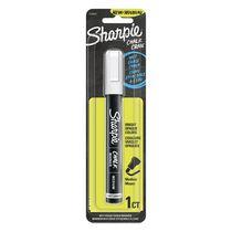 Sharpie Chalk Marker, Wet Erase Markers, White, 1 Count