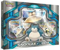 Pokémon 2016 Snorlax GX Box Trading Card Game, 4 Packs - English
