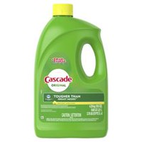 Cascade® Gel Dishwasher Detergent, Lemon Scent