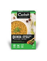 Casbah Mild Curry Quiona and Brown Rice Blends