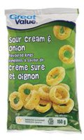 Great Value Sour Cream & Onion Flavoured Rings
