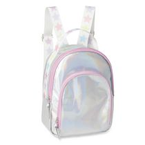 George Girls' Silver Iridescent Backpack