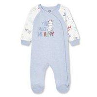 Nouveau Disney Babygrow Cat Sleepsuit nouveau né 1,3,6,9,12,18 ans et 23 mois