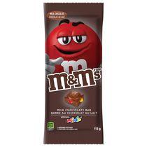 Tablette de bonbons au chocolat au lait Minis de M&M's, barre, 113 g