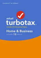 TurboTax Home & Business 2017, 12 retours, bilingue