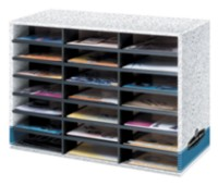 Bankers Box® 21 Compartment Literature Sorter