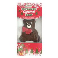 Palmer's Caramel Jingle Bear Chocolate