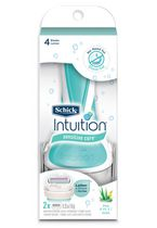 Schick Intutition Women's Naturals Sensitive Care Aloe Razor