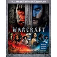 WarCraft (Blu-ray 3D + Blu-ray + Digital HD) (Bilingual)