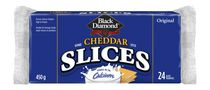 Fromage cheddar Black Diamond original en tranches