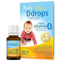Baby Ddrops® Liquid Vitamin D3 Vitamin Supplement, 400 IU