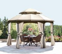 hometrends Arya Hexagonal Dome Gazebo