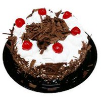 The French Oven Two Layer Chocolate Black Forest Cake