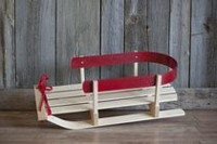 Jab Canadian Hardwood Small Baby Sled