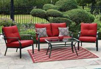 hometrends Montclair 4-Piece Conversation Set