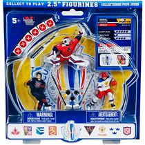 "World Cup of Hockey 2.5"" Figures Starter Pack 2: Ondrej Pavelec, Ryan McDonagh, Alexander Ovechkin"