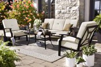hometrends Newport 4-Piece Conversation Set
