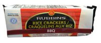 Rubbins Gluten free BBQ Rice Crackers