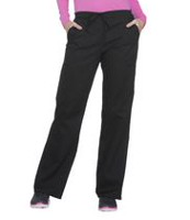 Scrubstar Women's Core Essentials Drawstring Scrub Pant Black L