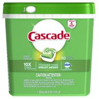 Cascade ActionPacs with the grease-fighting power of Dawn