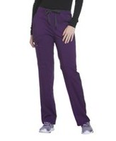 Scrubstar Women's Premium Collection Stretch Rayon Drawstring Scrub Pant Eggplant S