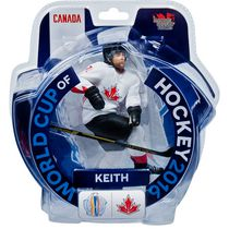 Figurine de 6 po Duncan Keith Coupe du monde de hockey